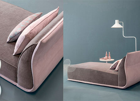 Twils Chaise longue Drop кровать